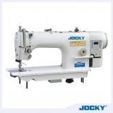 Direct drive computerized high speed lockstitch industrial sewing machine