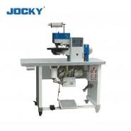 Fully automatic hot-cement edge folding shoe machine