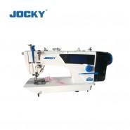 High speed lockstitch sewing machine (with package edge cutter)