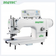 Direct-drive lockstitch machine with edge cutter,Auto thread trimmer,Auto foot lifting