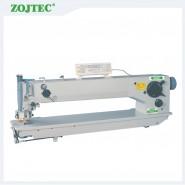Computerized long arm zigzag sewing machine, single needle